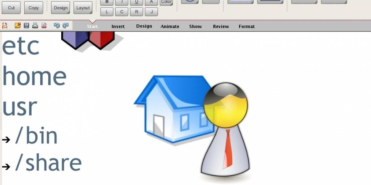 Prototipo con nueva interfaz de usuario para OpenOffice