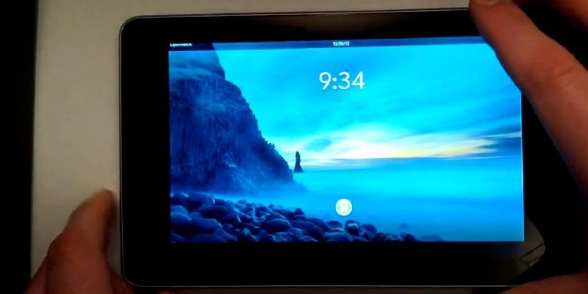 Open webOS hace una aparición en un Nexus 7