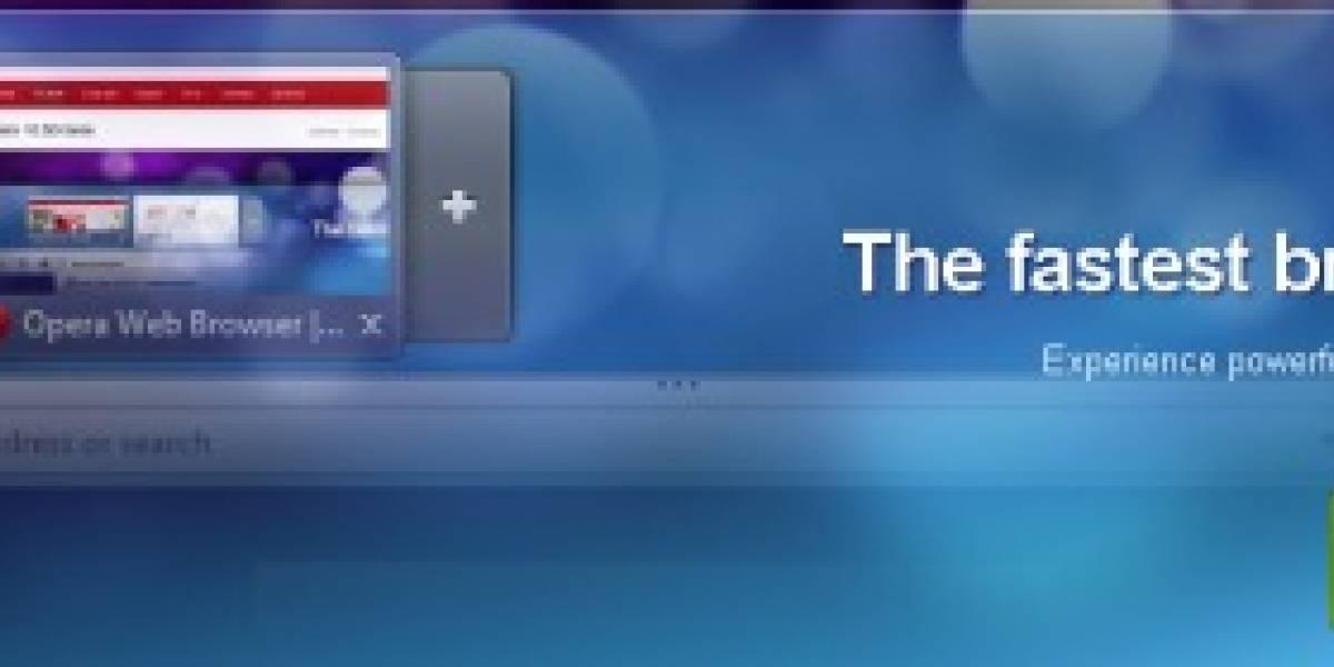Segunda beta de Opera 10.50 para Windows y primera para Mac [Actualizada]