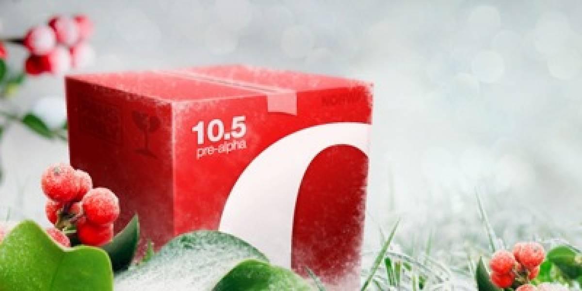 Opera 10.5 vendrá cargado a la velocidad