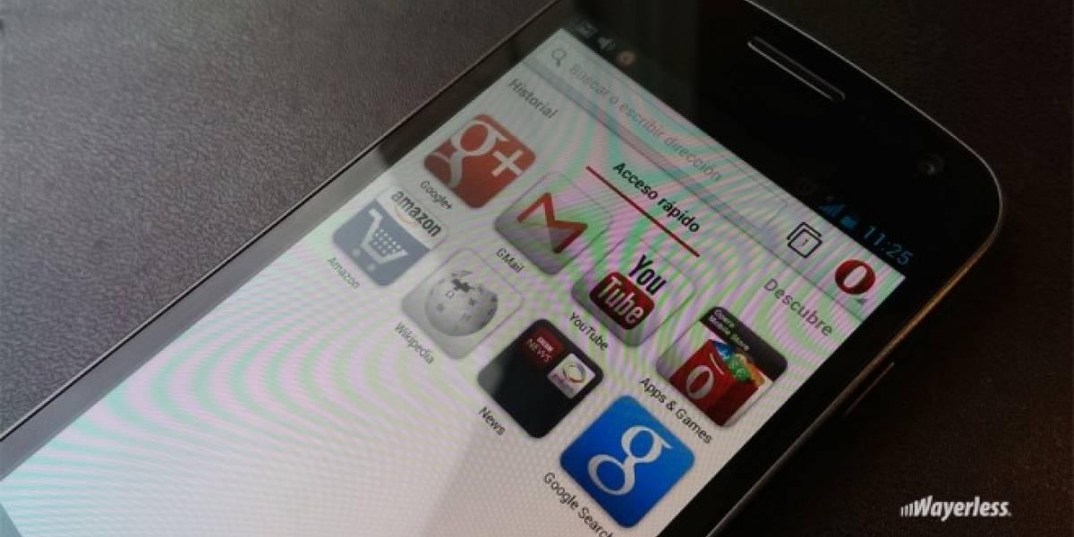 Opera para Android se actualiza a la versión 15 con motor Chromium
