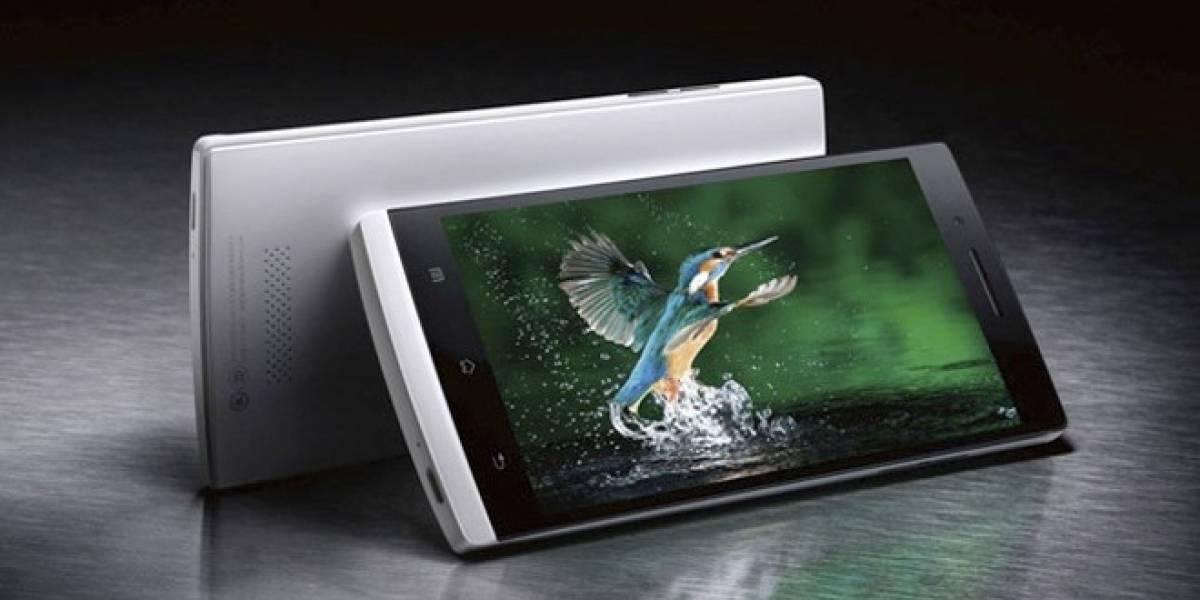 Lanzan el Oppo Find 5, el smartphone del futuro