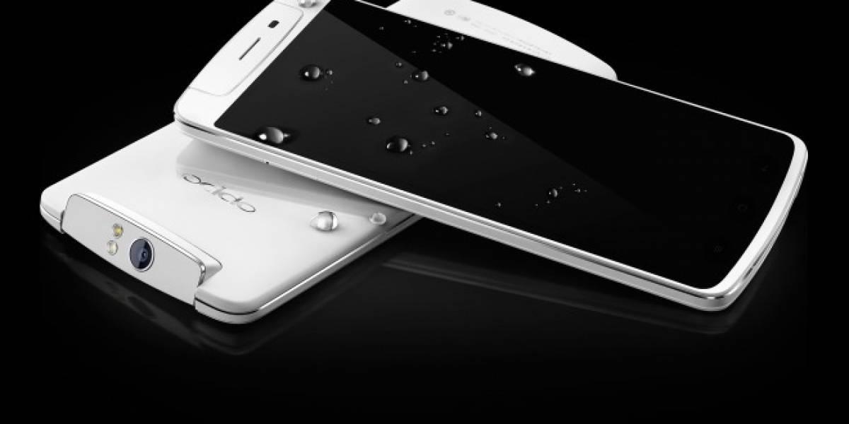 El Oppo N1 posa para las cámaras antes de su lanzamiento