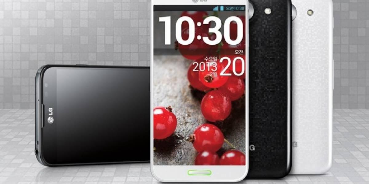 LG Optimus G Pro disponible en España