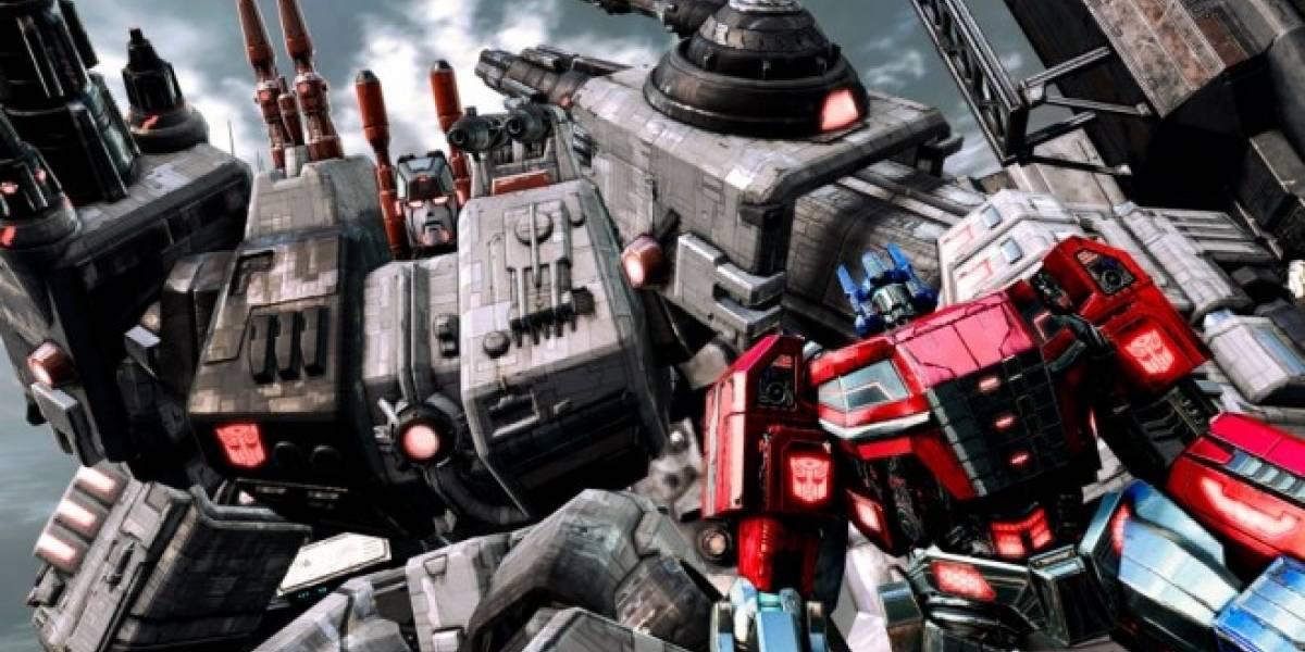 Tráiler de lanzamiento de Transformers: Fall of Cybertron