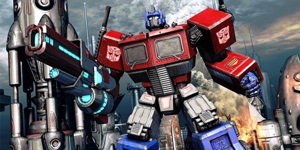 Optimus Prime habla sobre Transformers: Fall of Cybertron