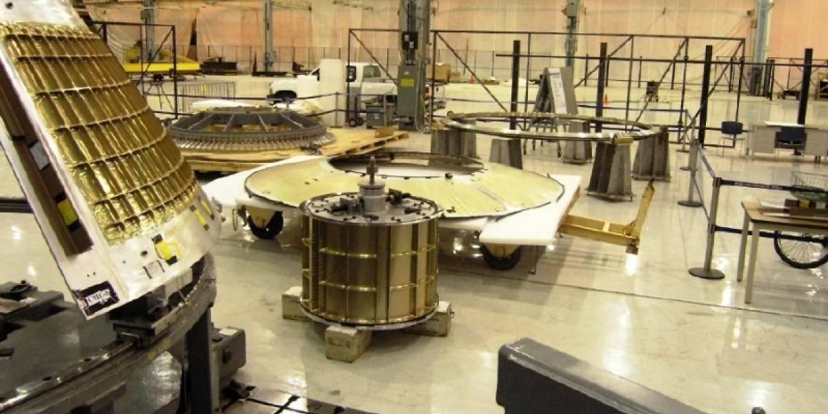 Nave Orion pasa test de diseño