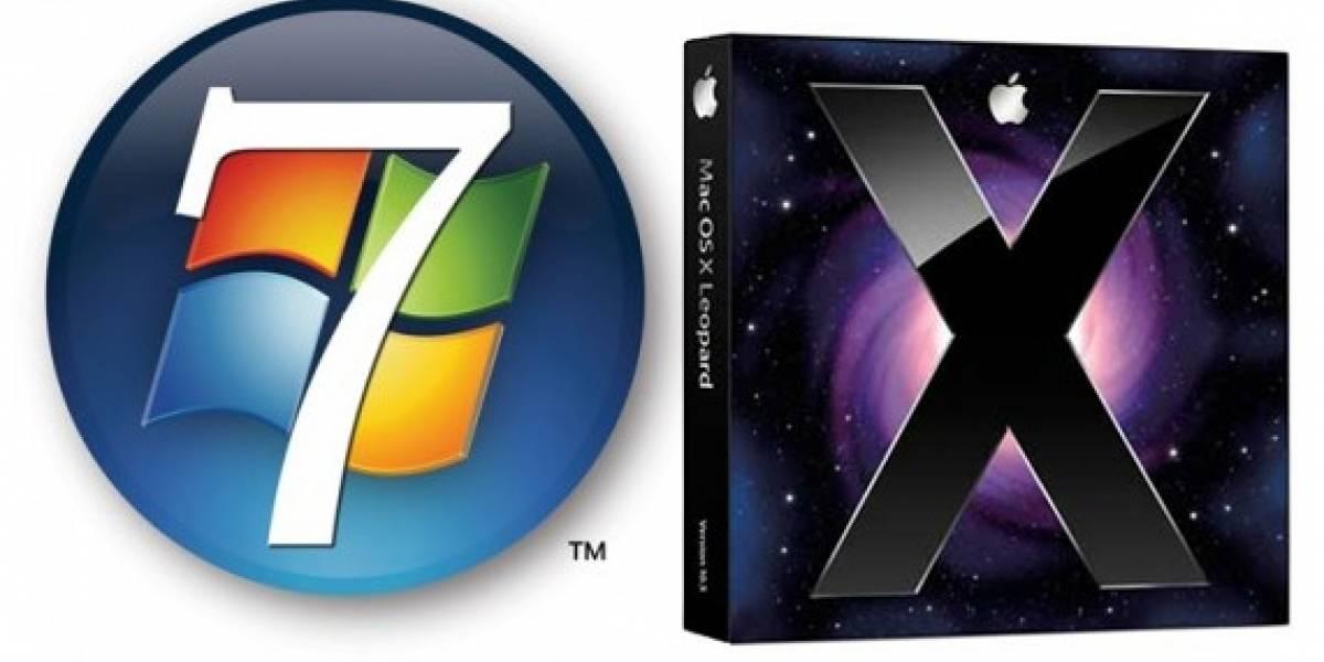 """Ejecutivo de Microsoft admite que Windows 7 fue """"inspirado"""" en Mac"""