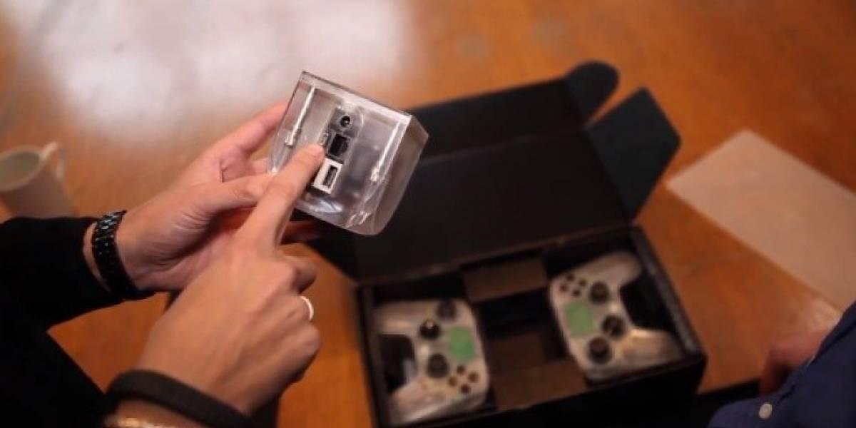 Consola OUYA se muestra en su primer unboxing