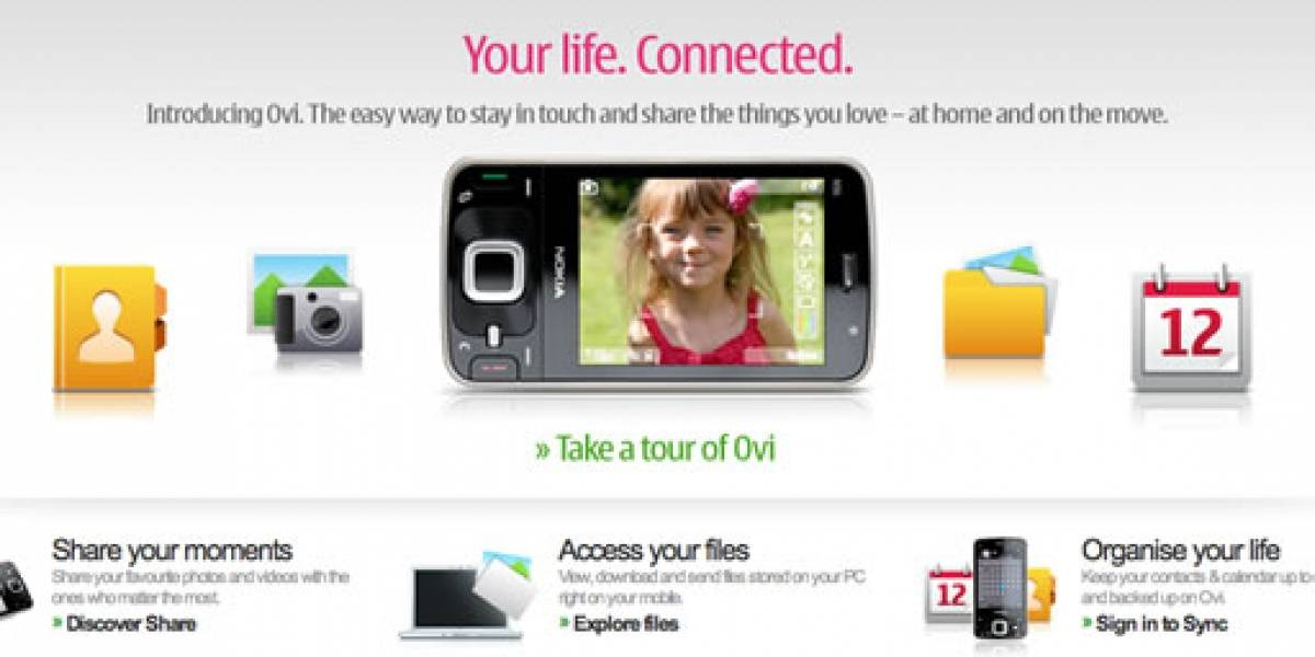 OVI: el MobileMe de Nokia