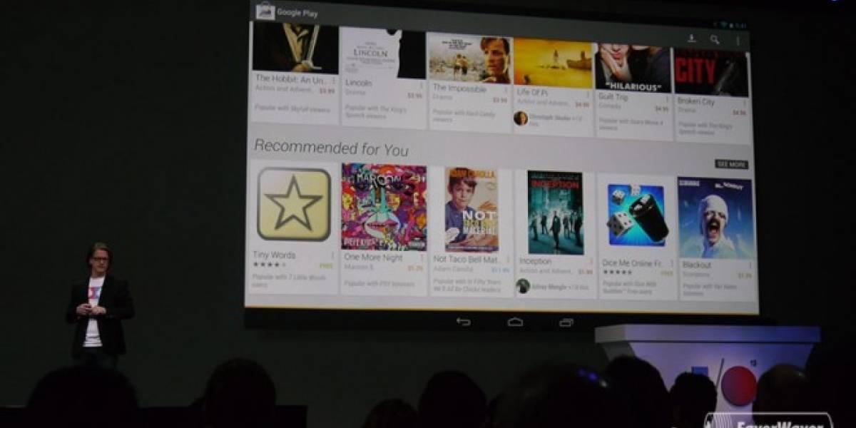 Google rediseña Google Play Store y tiendas relacionadas #IO13