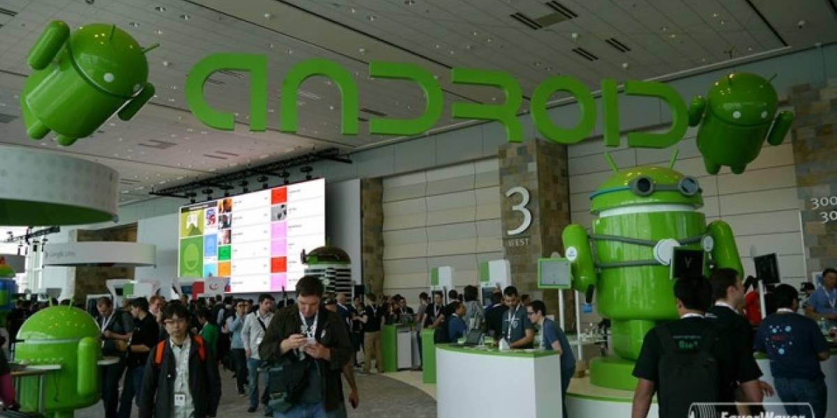 Google afirma que intenta reparar la fragmentación de Android #IO13