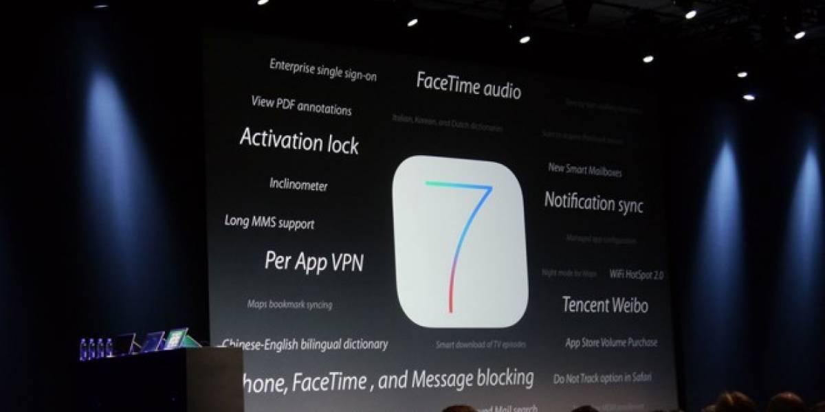 iOS 7 permitirá hacer llamadas de voz vía Facetime