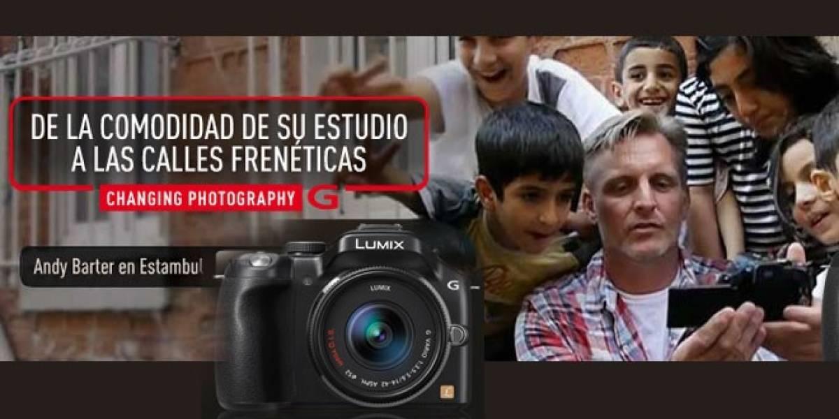El fotógrafo Andy Barter nos cuenta su experiencia con la LUMIX G5 en Estambul