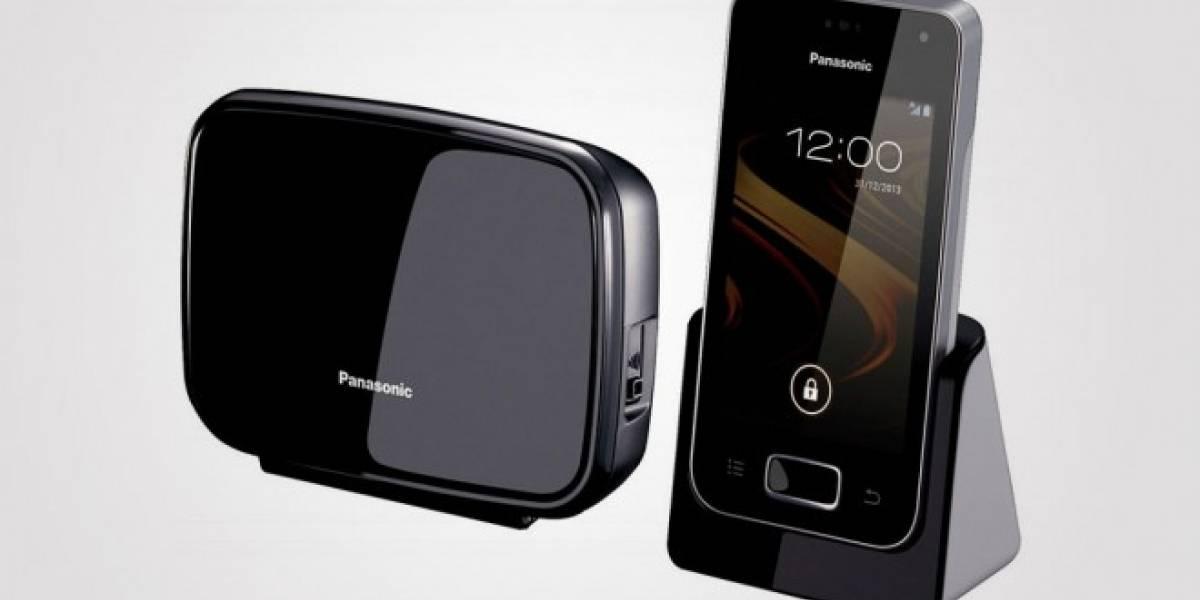 Panasonic lanza un teléfono fijo basado en Android