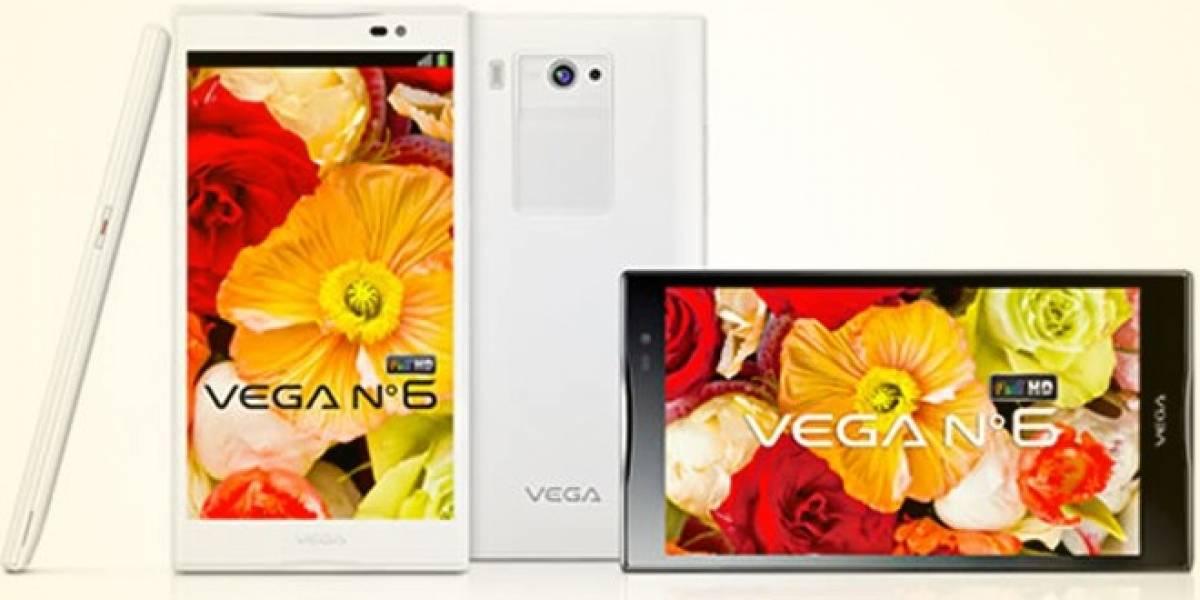 Pantech estrena smartphone con pantalla de seis pulgadas Full HD