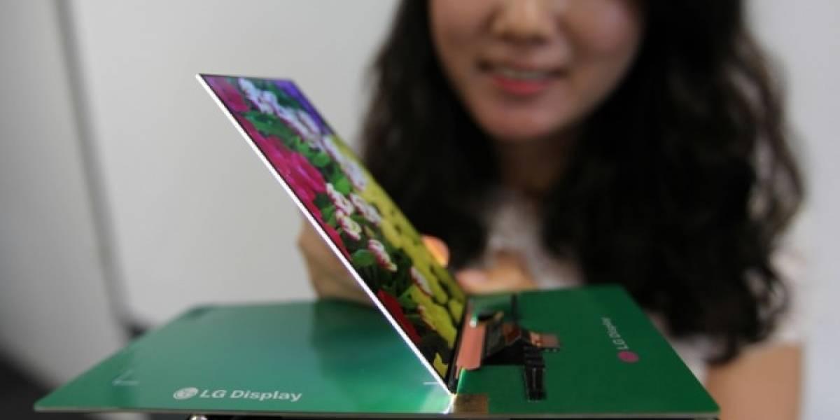 LG lanza la pantalla 1080p más delgada hasta la fecha con 2,2 milímetros de grosor