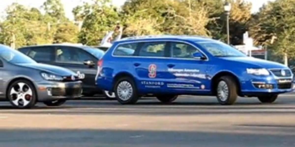 Video: el auto que se estaciona solo