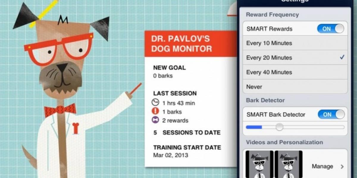 ¿Una app para adiestrar a tu perro? Pavlov Dog Monitor