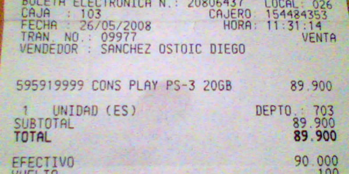 PlayStation 3 a $190 Dólares... IM-PER-DI-BLE