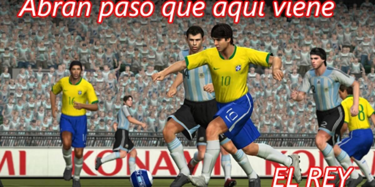 Lanzamiento en Chile de Pro Evolution Soccer 2008