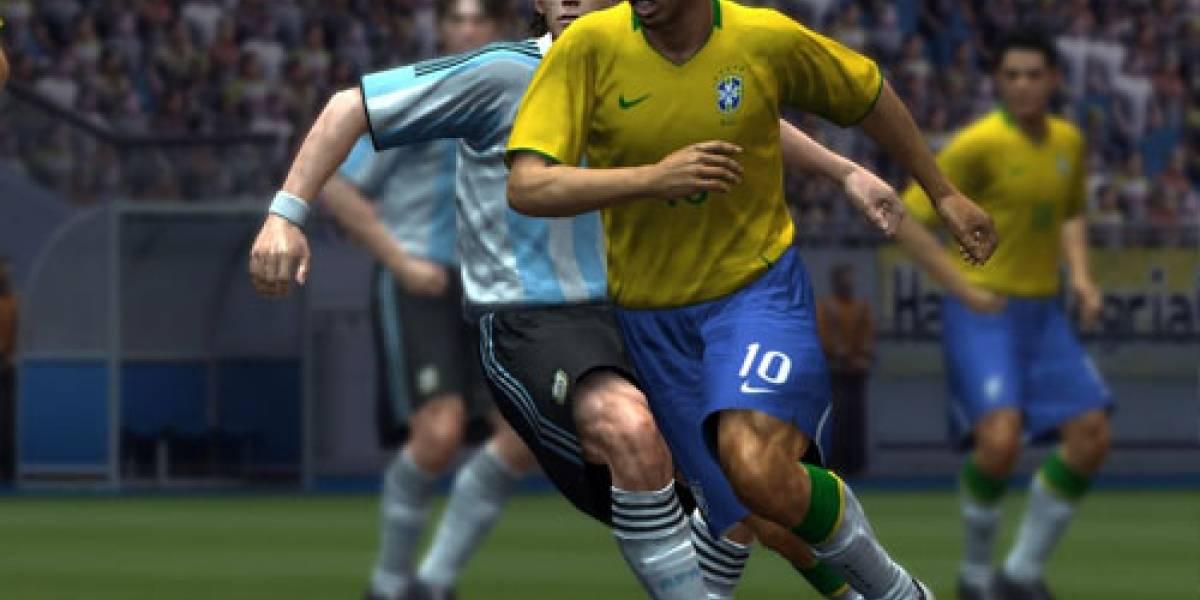 PES 2009 oficial, porque ya es hora de patearle el trasero a FIFA.