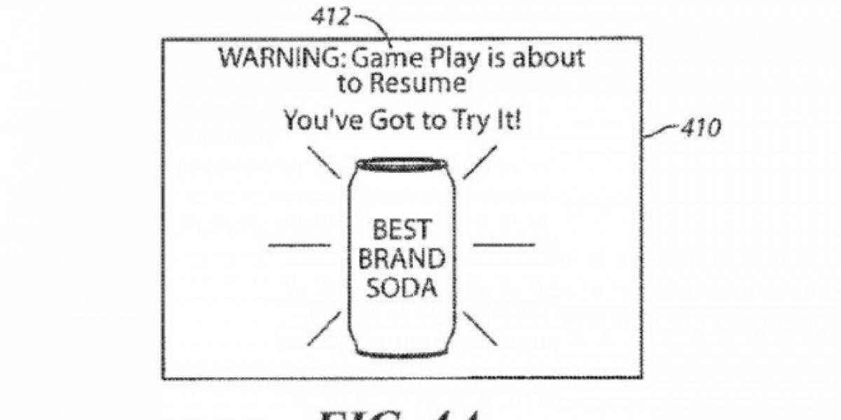 Sony patenta publicidad que interrumpe tu juego