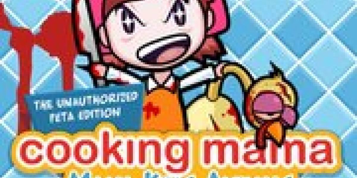 PETA se burla de cooking mama