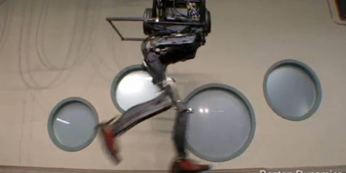 Petman: Un robot andante creado para la guerra química