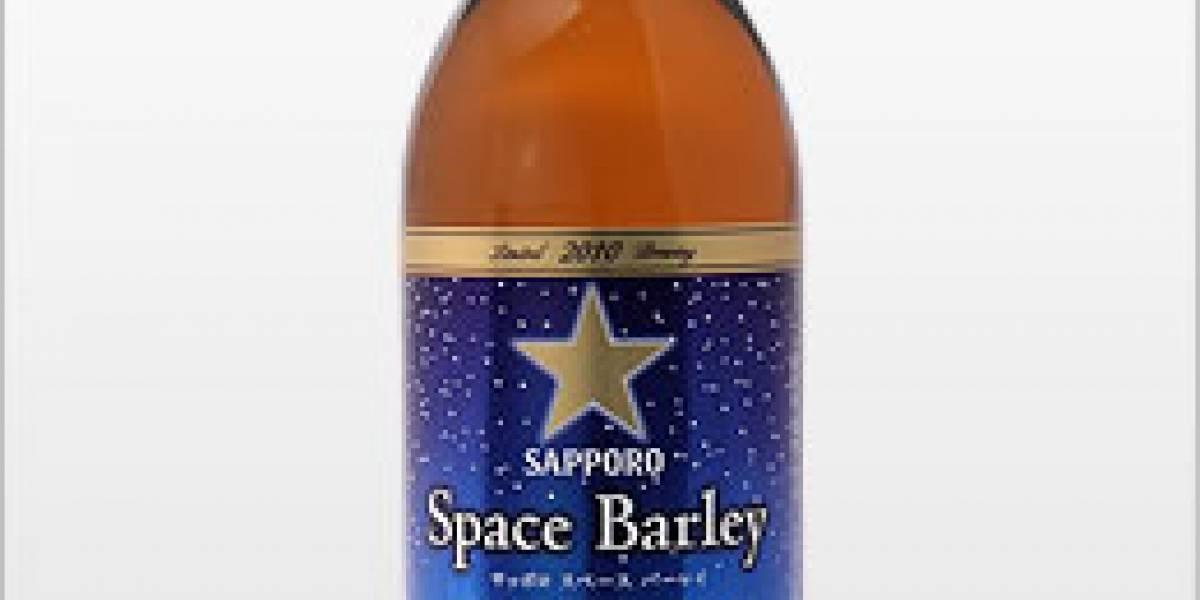 """Space Barley: Una cerveza Sapporo """"espacial"""""""