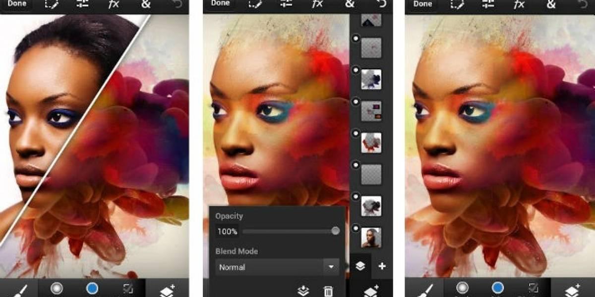 Adobe lanza Photoshop Touch para smartphones por USD$4,99