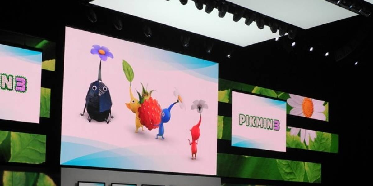 E3 2012: Shigeru Miyamoto presenta Pikmin 3 en Wii U