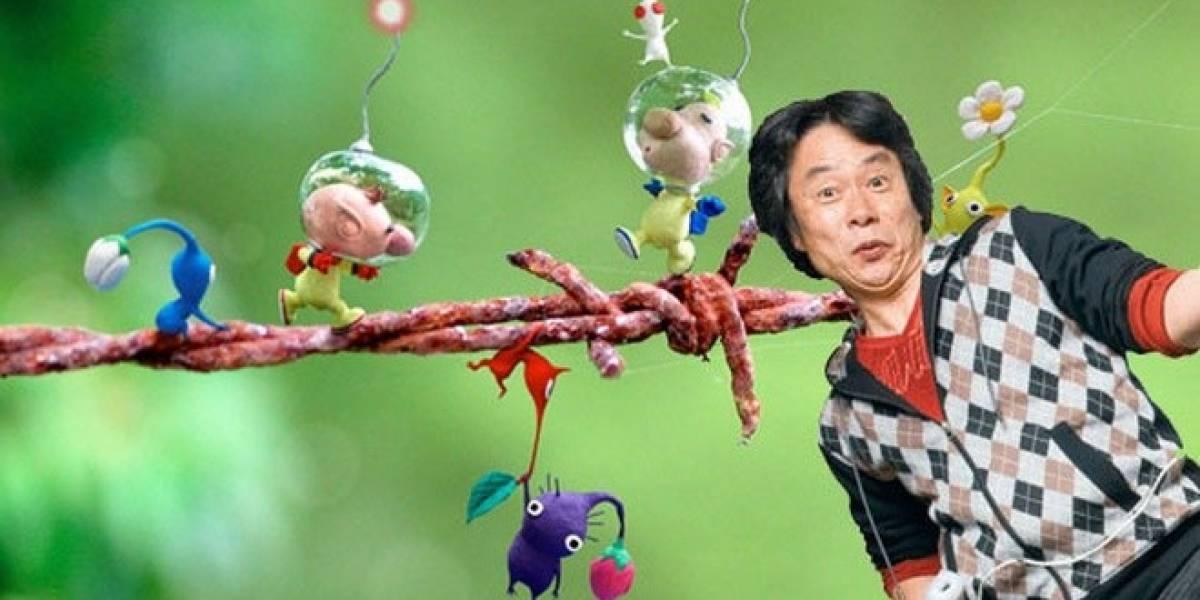 Pikmin 3 retomará los conceptos del primer Pikmin, dice Miyamoto