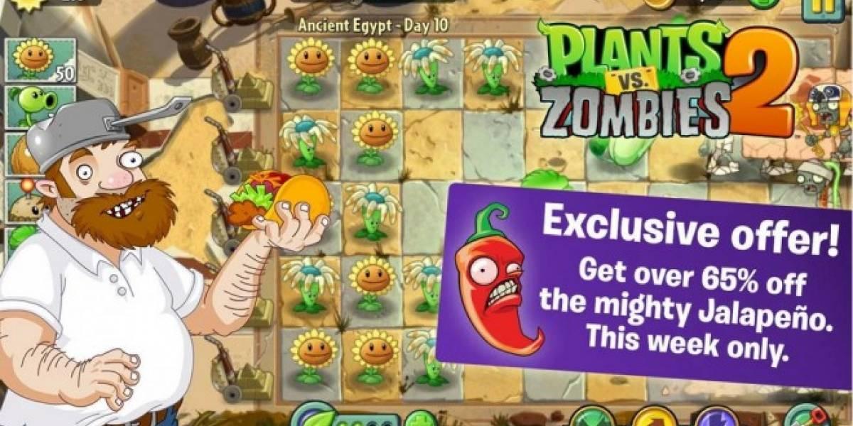 Planta Vs. Zombies 2 ya disponible para Android