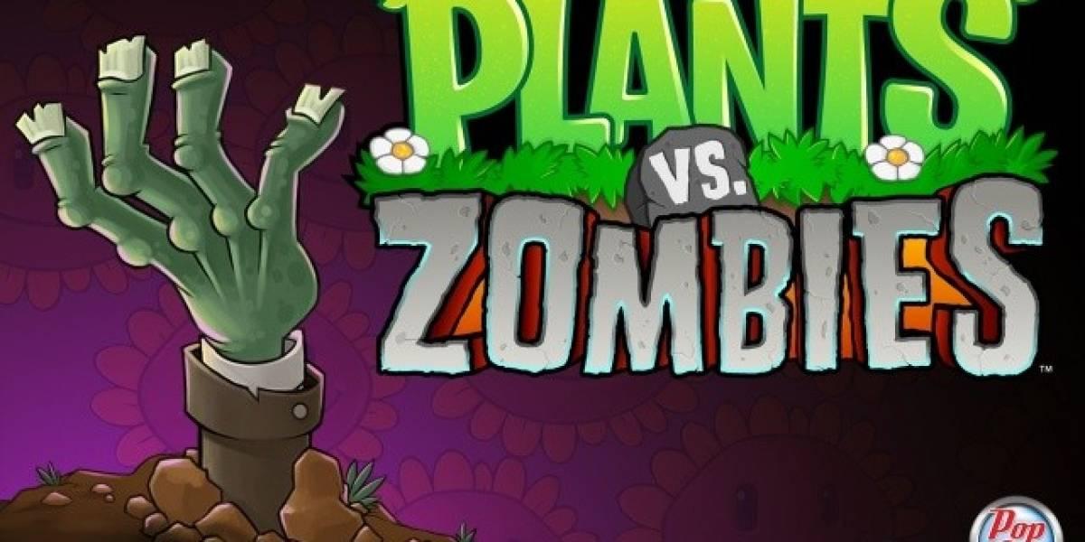 Plantas Versus Zombies, gratis por hoy en App Store