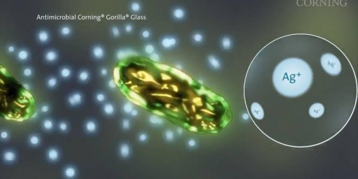 Corning lanza versión antimicrobiana de Gorilla Glass