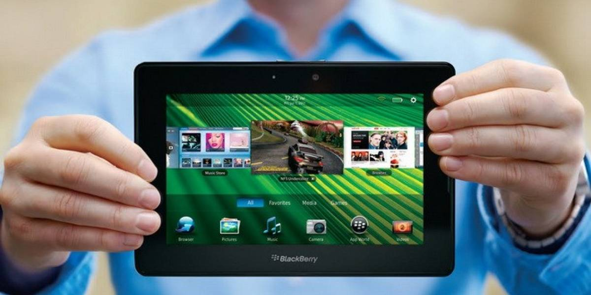 BlackBerry confirma que no llevará BB10 a PlayBook