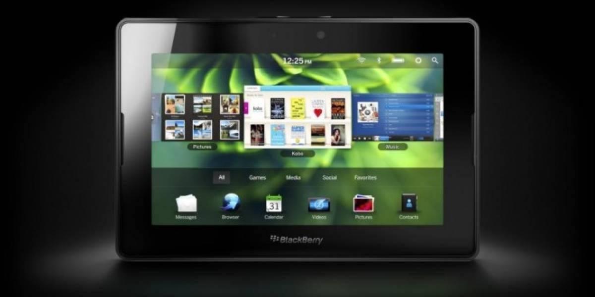 Ejecutivo a cargo del PlayBook renuncia a RIM