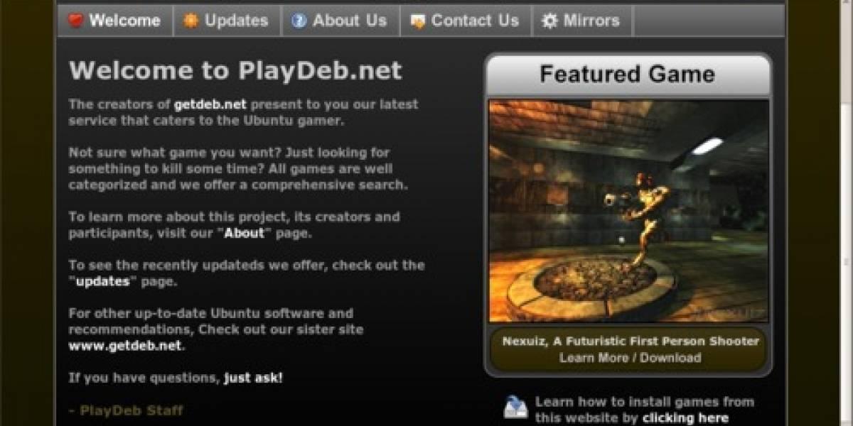 Juegos para Ubuntu Linux al alcance de un solo click