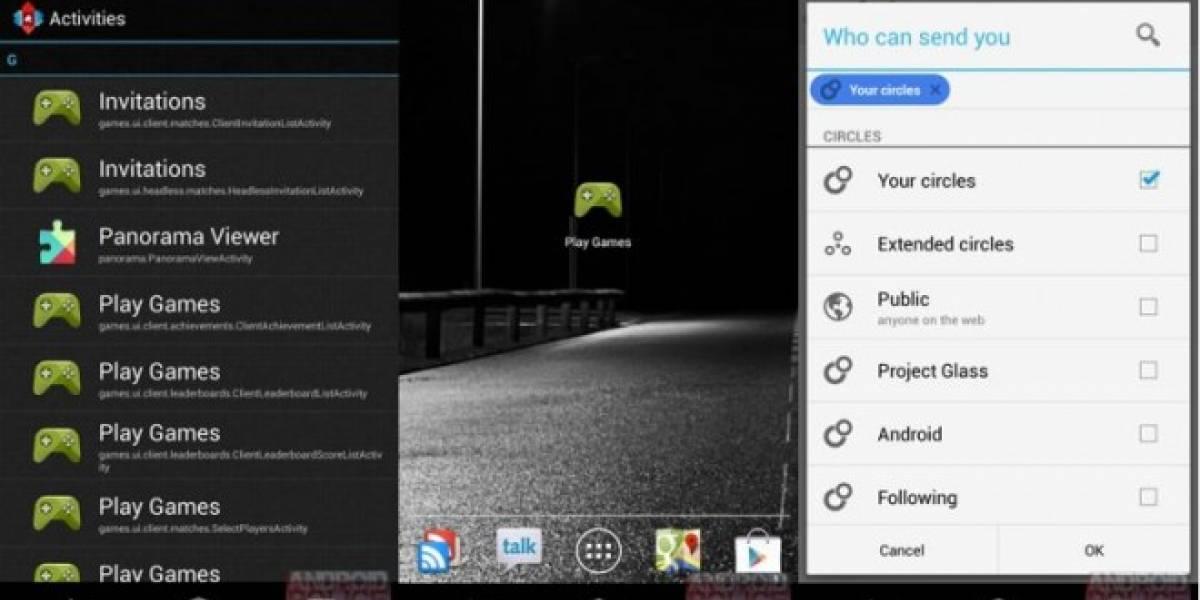 Archivos de Google Play Games aparecen en actualización de Google Play Services