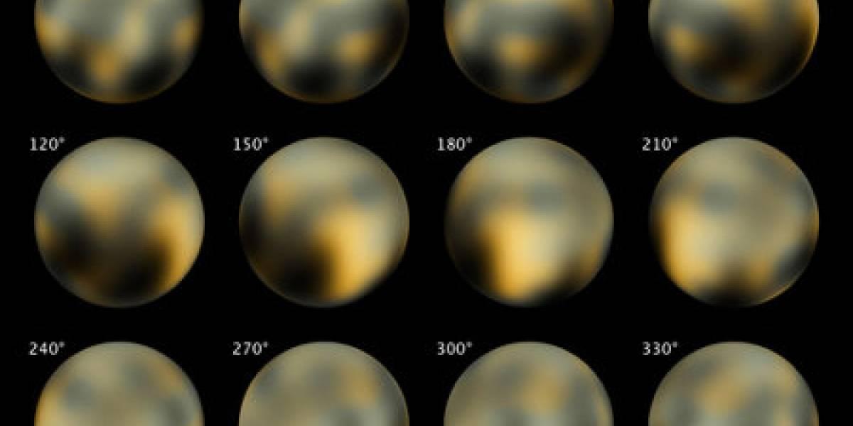 La superficie de Plutón cambia de color