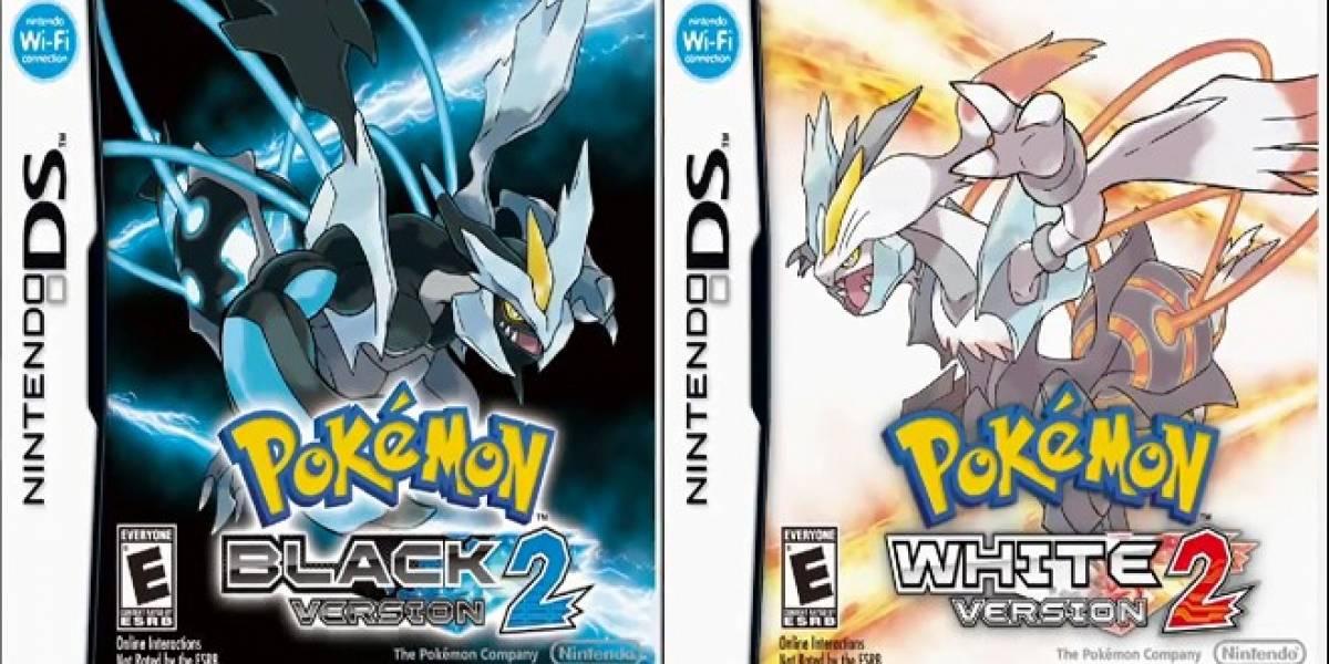 Pokémon Black y White 2 reciben fecha de lanzamiento en Norteamérica y Europa