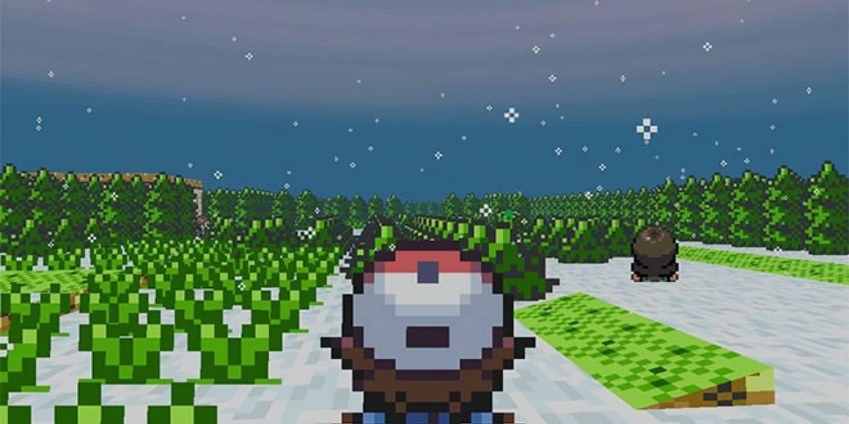 Fanático lanza versión de Pokémon en 3D