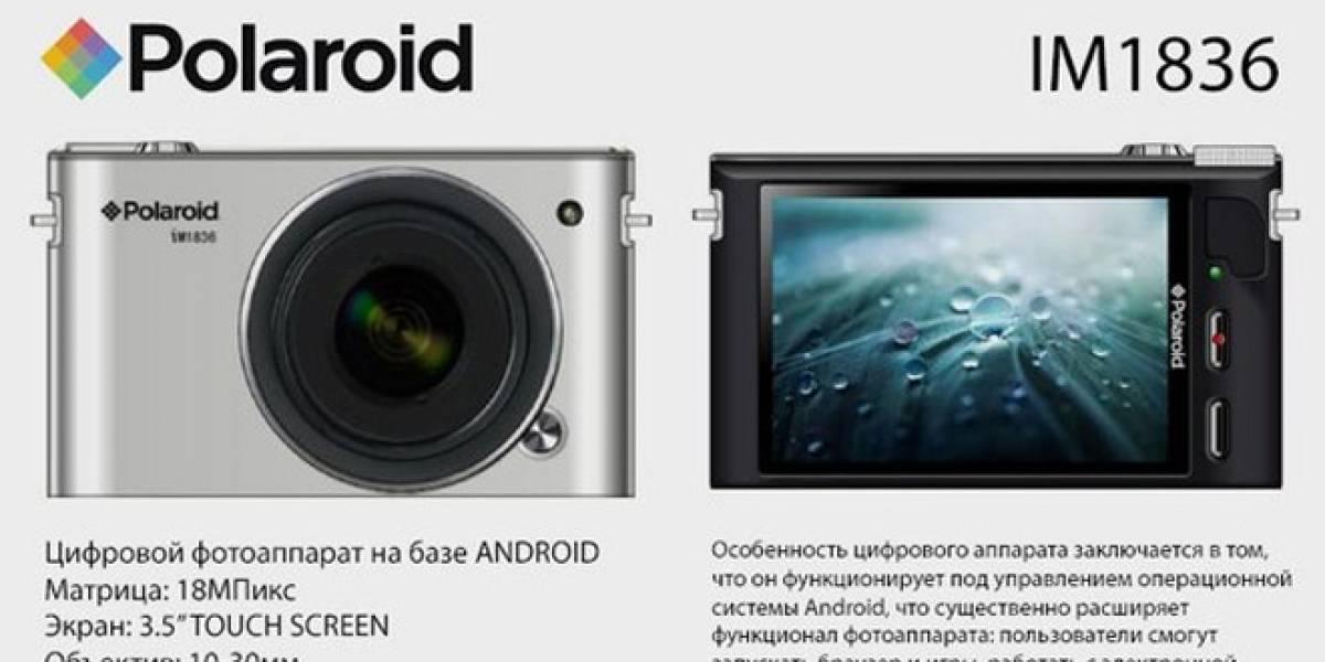 Polaroid estaría preparando una cámara con sistema operativo Android