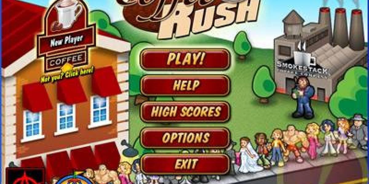 Flash Games!!  Coffee Rush, o la locura del café