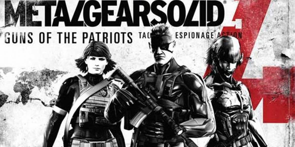 Tiendas online listan Metal Gear Solid 4: Guns of the Patriots 25th Anniversary Edition