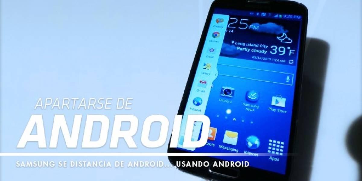 Samsung se separa poco a poco de Android