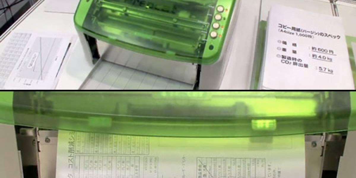 Prepeat: Una impresora que también borra lo que imprime