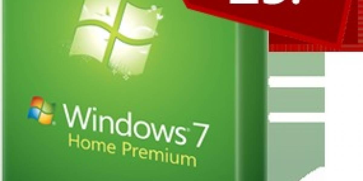 Estudiantes podrán actualizar a Windows 7 por $30 dólares