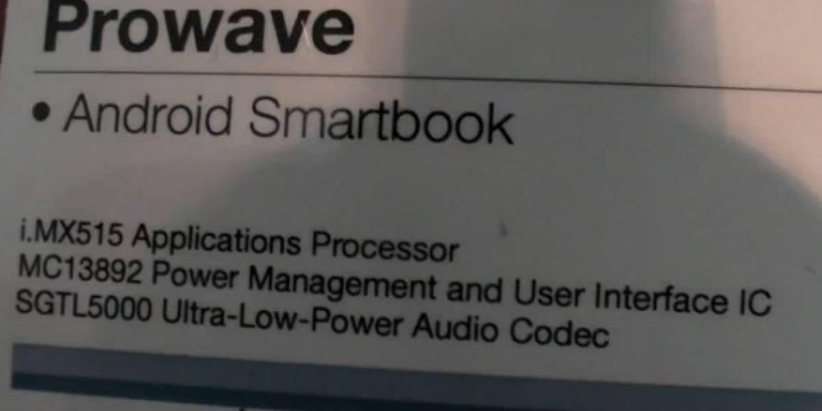 Prowave prepara Smartbook con Procesador Freescale